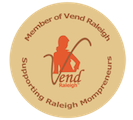 Vend Raleigh Badge