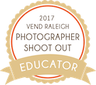 Vend Raleigh Photographer Shoot out Badge