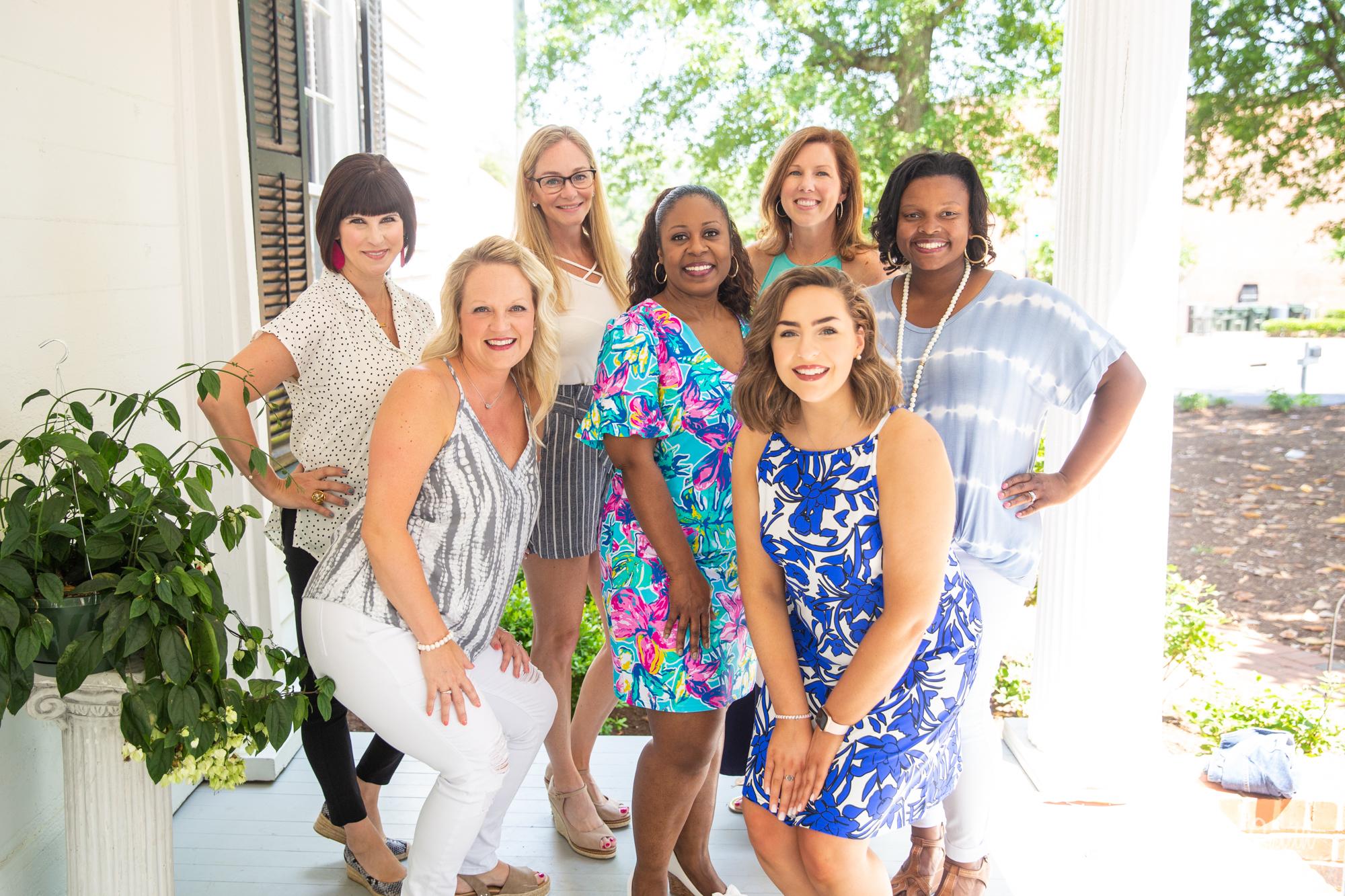 Group of women posing